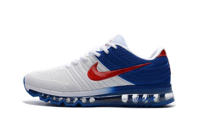 air max 2017 bleu blanc rouge