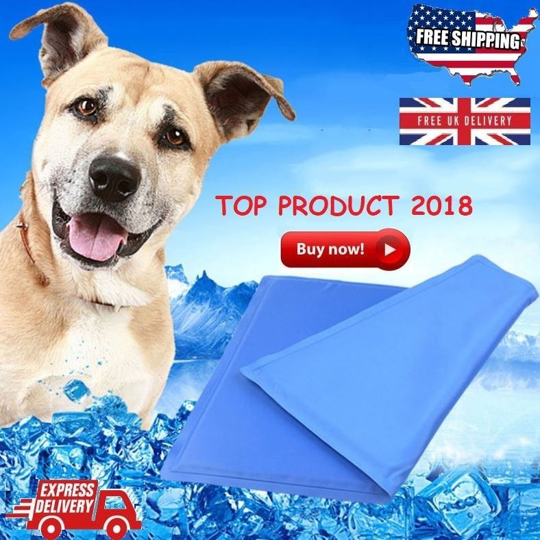 New Mattress Pet Cooling Mat Ice Pad For Dog Cat Puppy Non Toxic