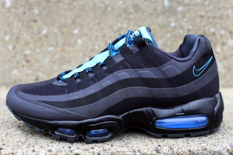 timeless design 81414 0db3a Nike Air Max 95 No Sew - Black White-Anthracite