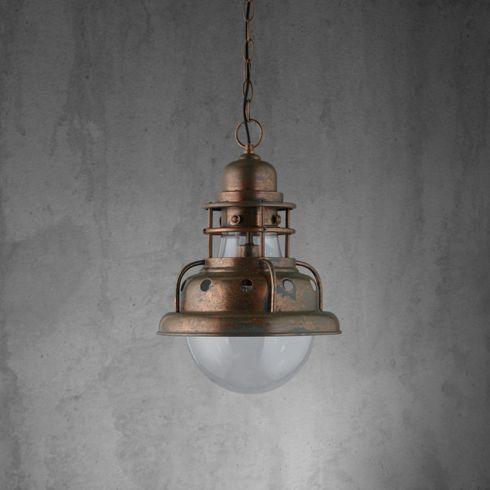 Schicke Hängeleuchte im Vintage-Stil - sorgt für gemütliche Beleuchtung