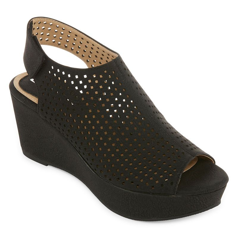 Cl By Laundry Womens Distance Wedge Sandals Womens Sandals