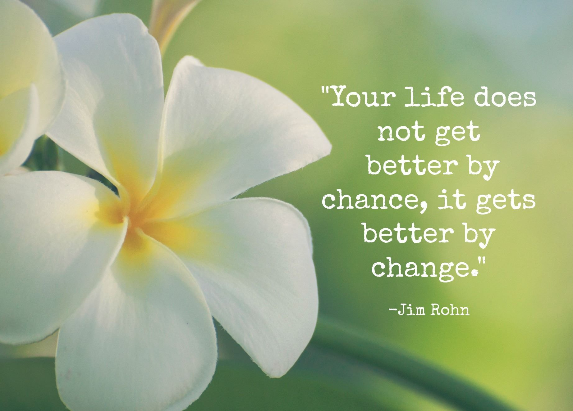Words Of Wisdom From Jim Rohn It Gets Better Life Gets Better Housekeeping Quotes