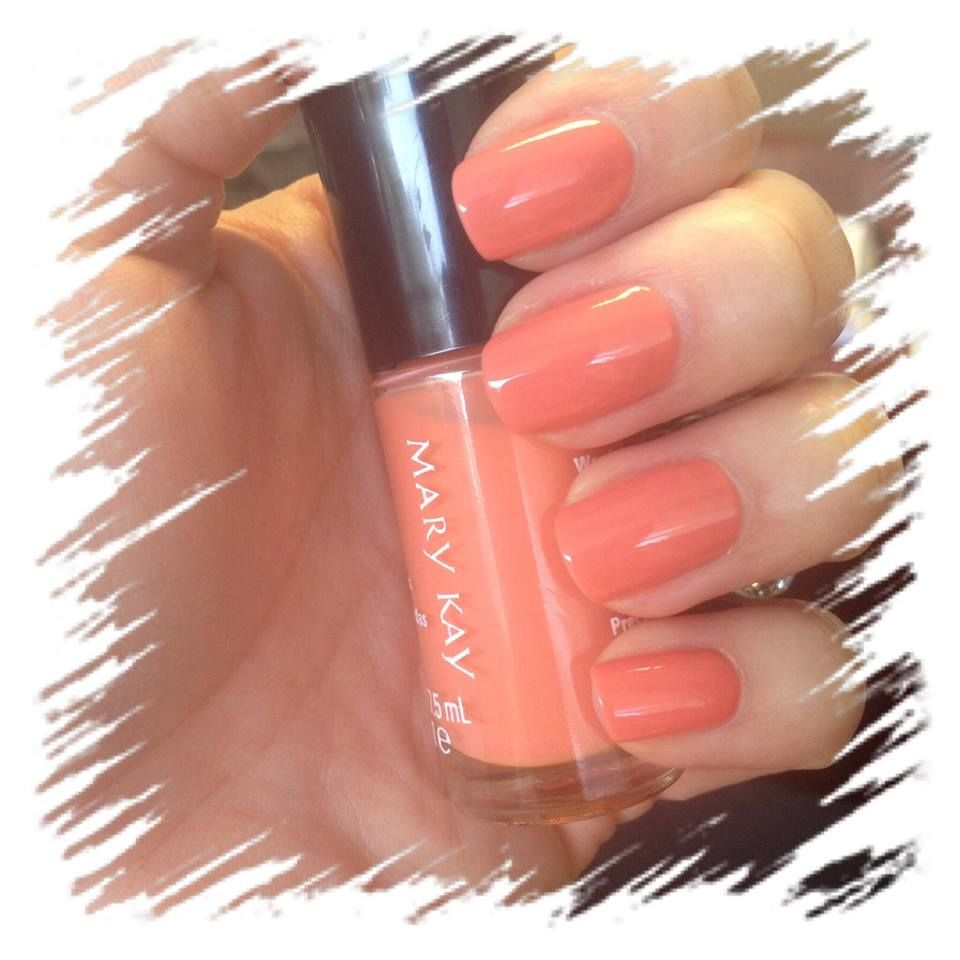 Loving the all NEW Mary Kay nail lacquer in Carefree Coral $9.50 www ...