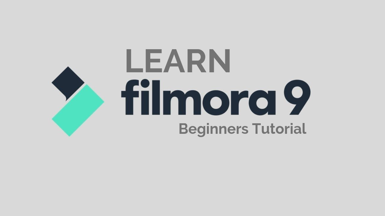 Filmora9 Tutorial Designed For Beginners Youtube Video Editing Software Video Editing Tutorial