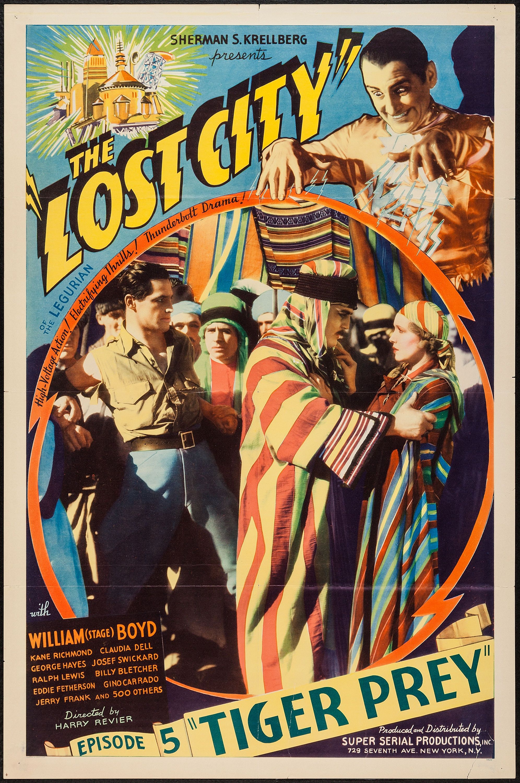 The Lost City Super Serial Productions 1935 One Sheet 27 Movie Posters Vintage Best Movie Posters Lost City