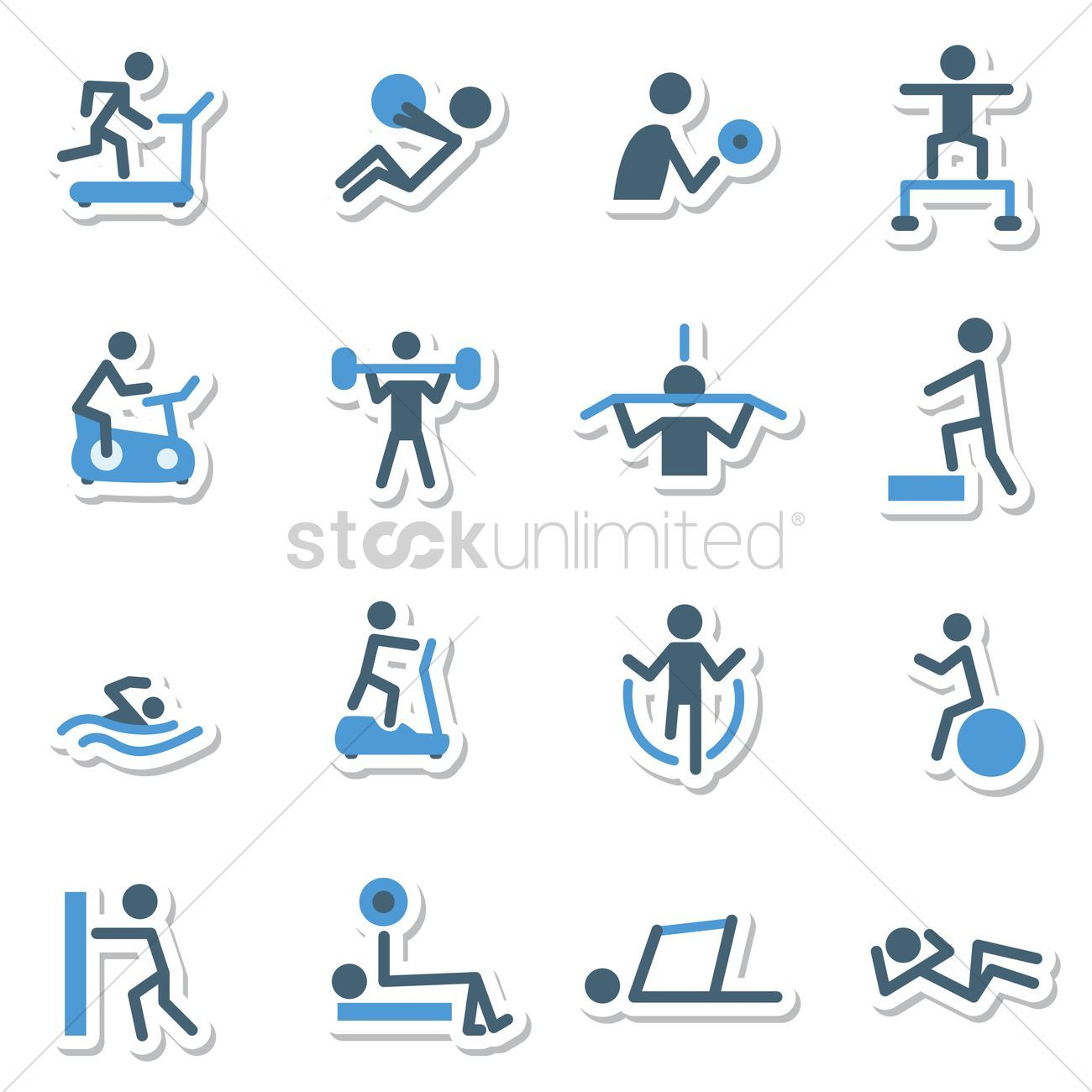 Fitness work out icons vector illustration , #sponsored, #work, #Fitness, #icons, #illustration, #ve...