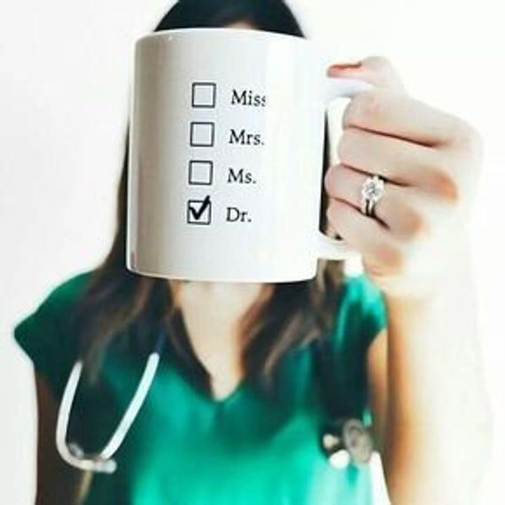Funny Med School Mug – Dr To Be Cup - White Coat Ceremony Gift Ideas For Medical Students, Future Doctor, Nurse To Be, Medicine Graduation #medicalstudents