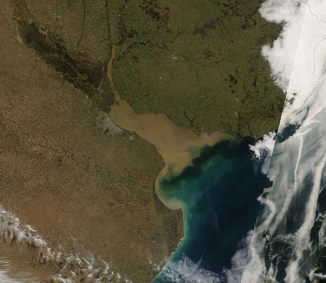 Uruguay by NASA Goddard Photo and Video, via Flickr