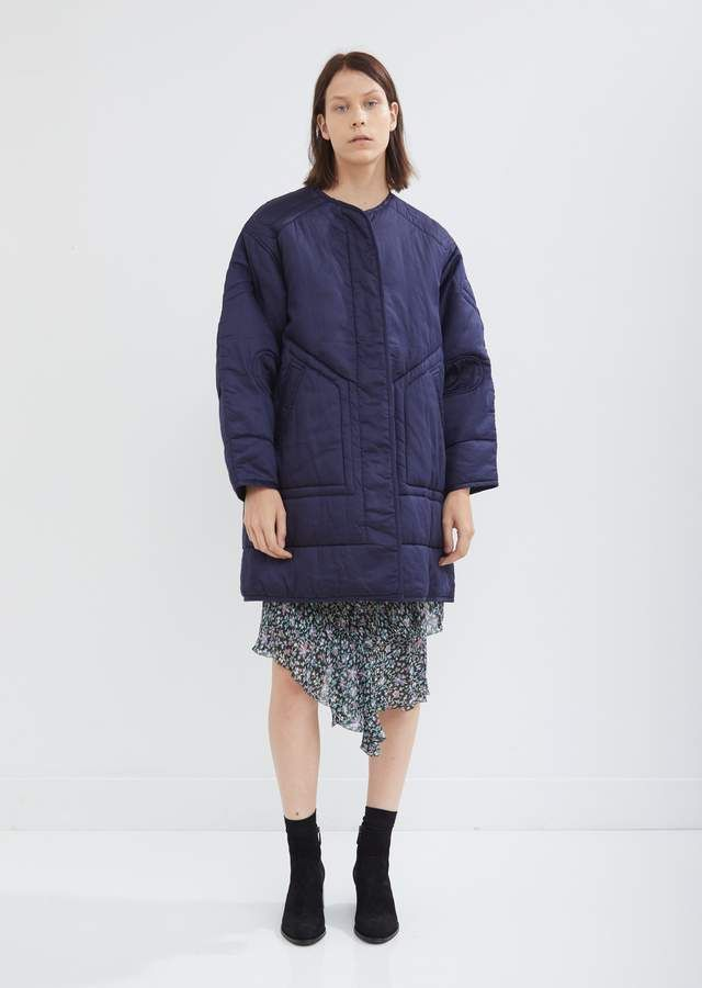 89906511c42ea Etoile Isabel Marant Nao Quilted Coat