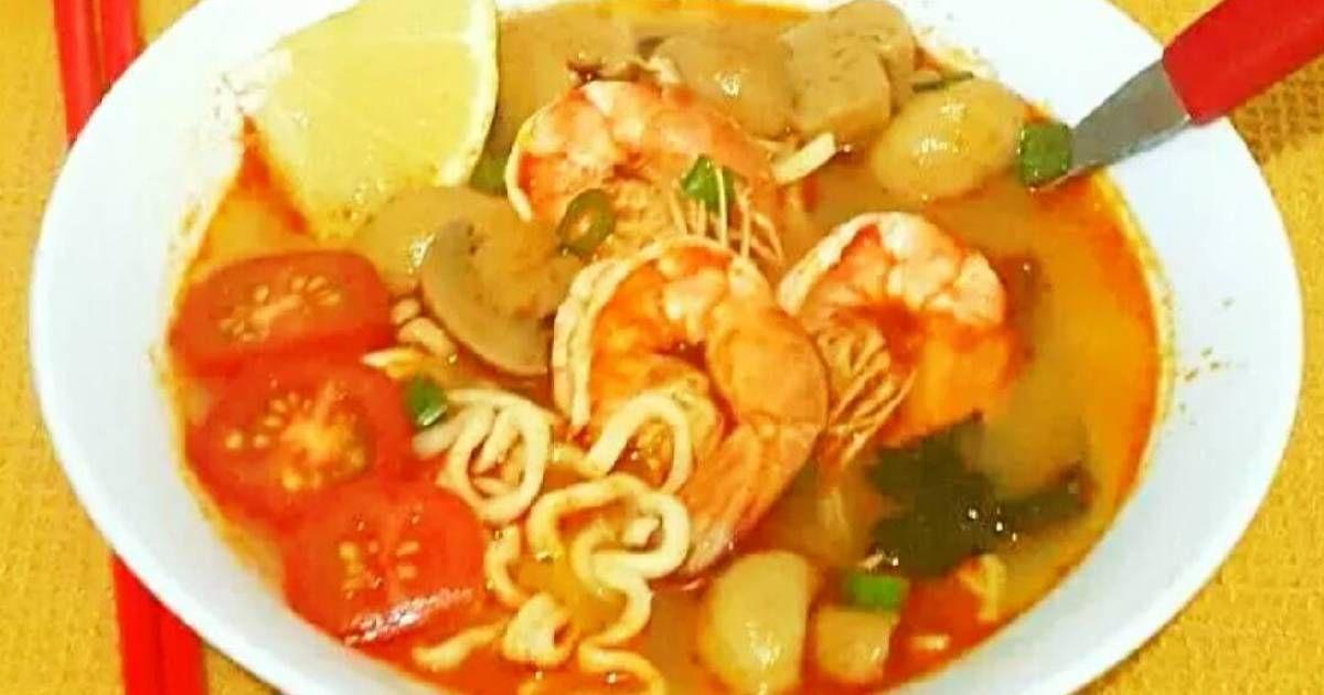 Resep Tom Yam Noodle Soup Posting Rame2 Sop Oleh Giacinta Permana Resep Makanan Dan Minuman Resep Masakan