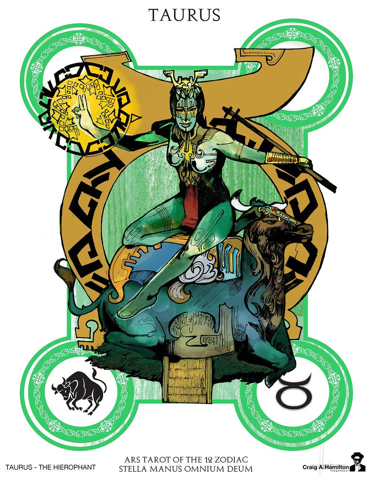 Ars zorot tarot of the 12 zodiac on behance zodiac