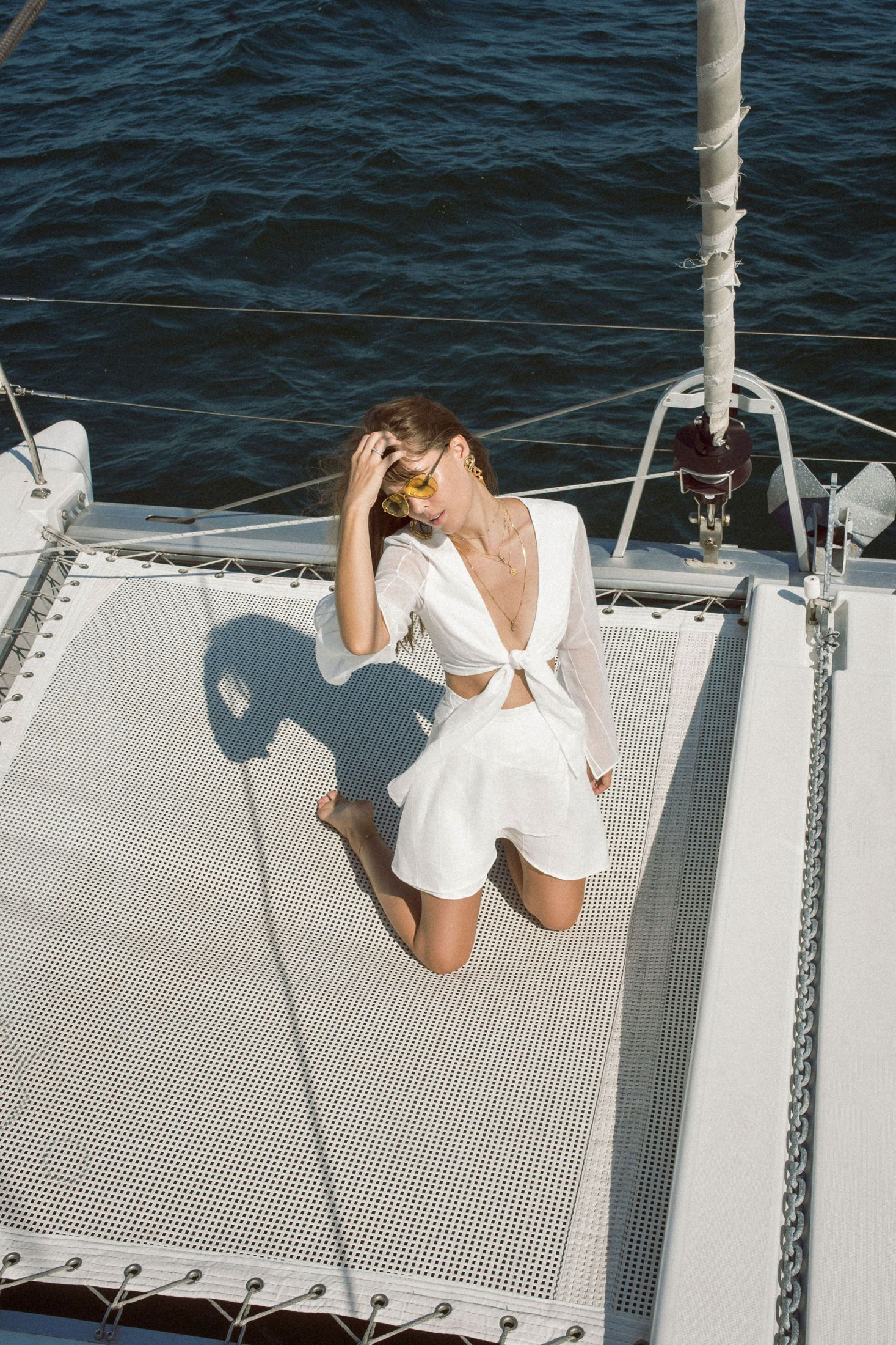 Finders Keepers all White Look | Jenny Cipoletti of Margo & Me