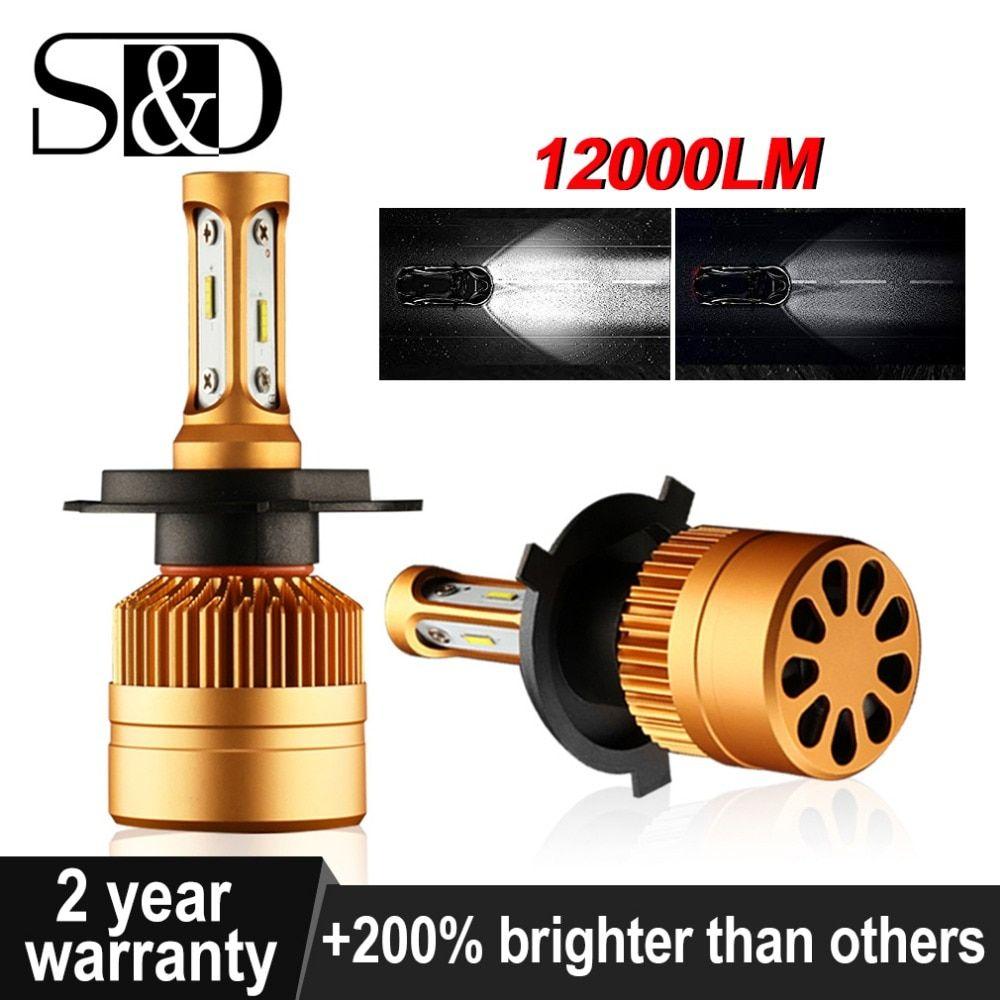 Car Headlight Bulbs Led Lamp Autoscheinwerfer Scheinwerfer Lampe Led Scheinwerfer