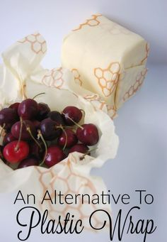 An Alternative to Plastic Wrap - LOVE this stuff! Psst... this post has a deal for 2 sheets of Bee's Wrap for just $3!