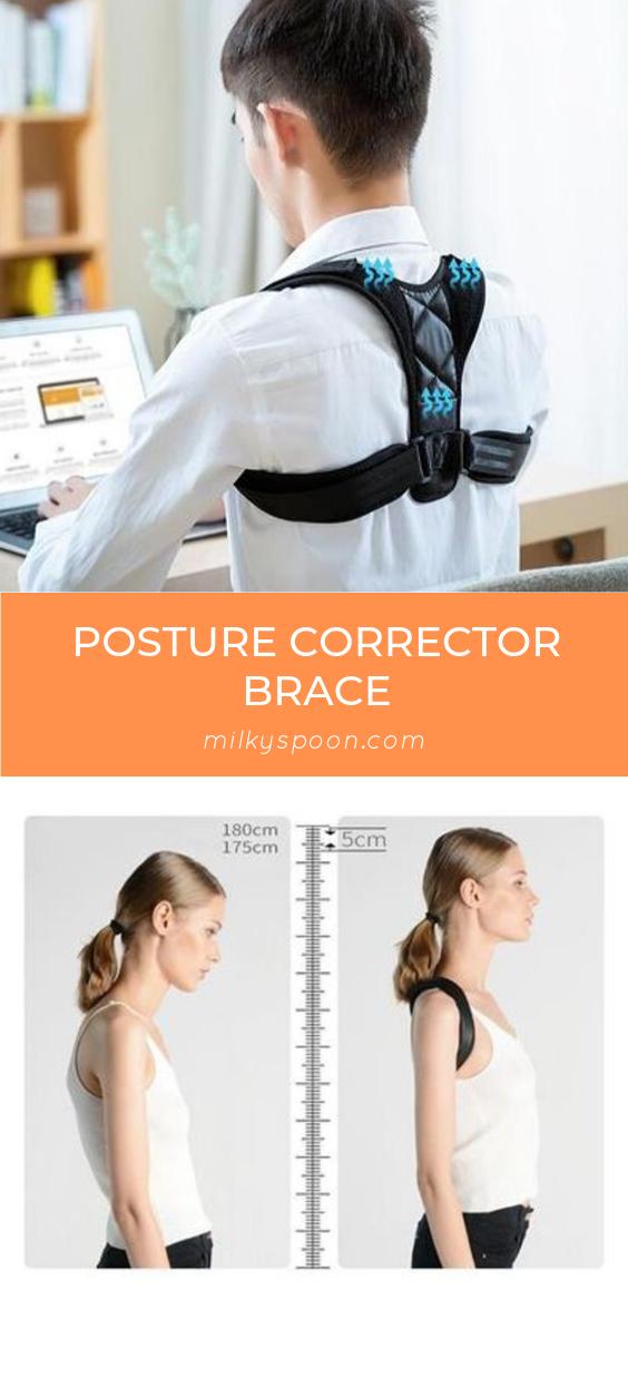 Posture Corrector Brace Posture corrector, Injury