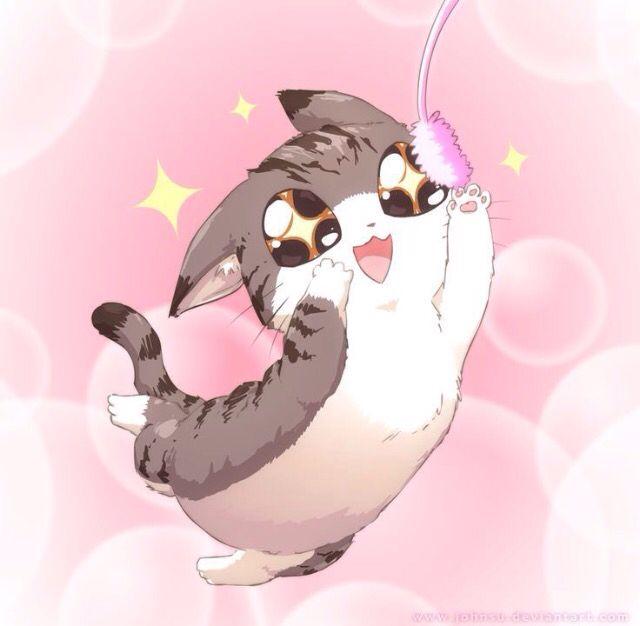 Süße Manga Tiere
