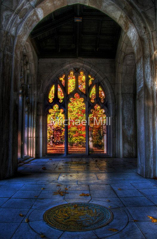 Autumn Colors From The Washington Memorial Chapel By Michael Mill Stained Glass Amazing Architecture Architectural Elements