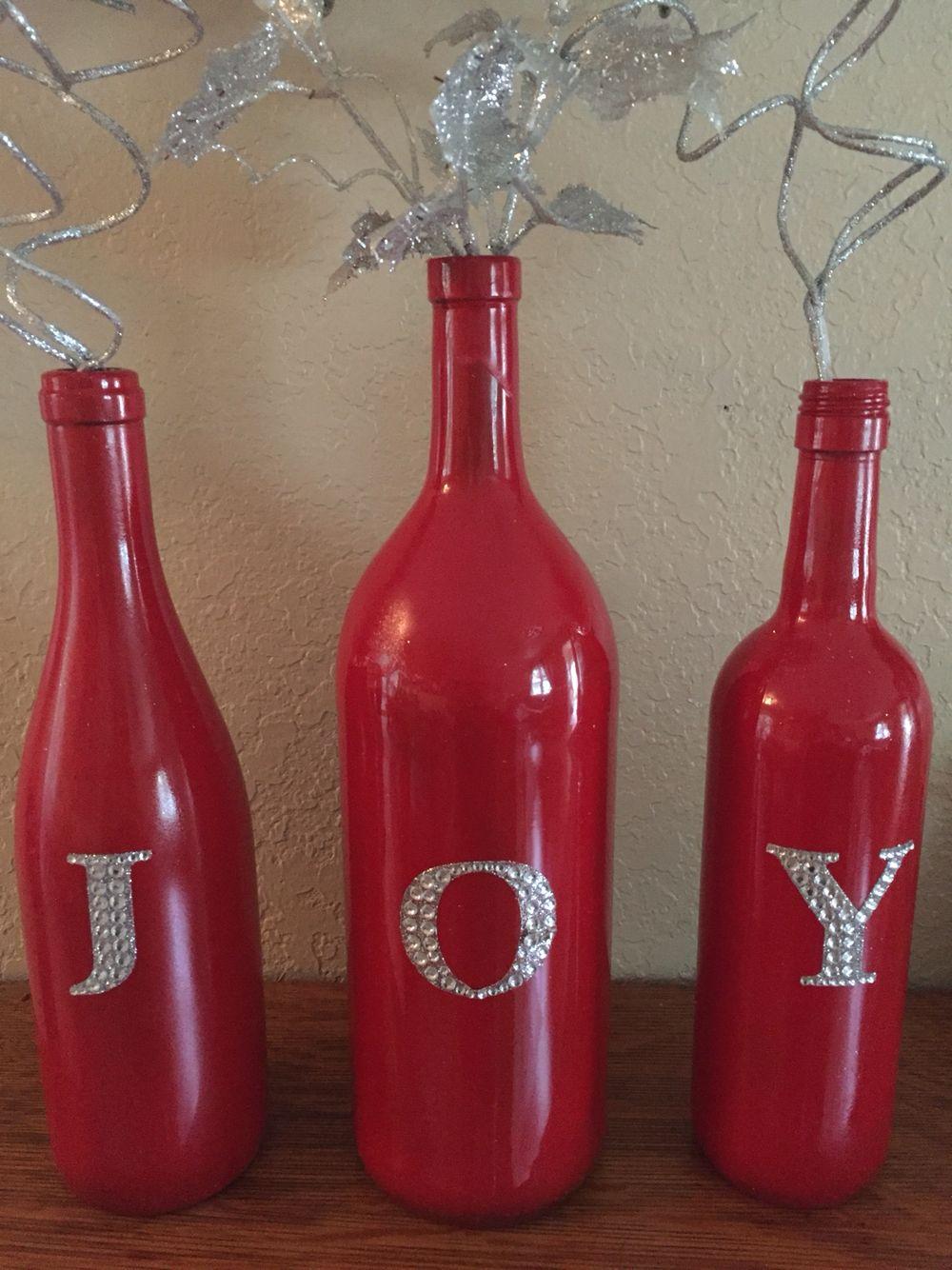 Joy To The World Bottles Decoration Hot Sauce Bottles Sauce Bottle