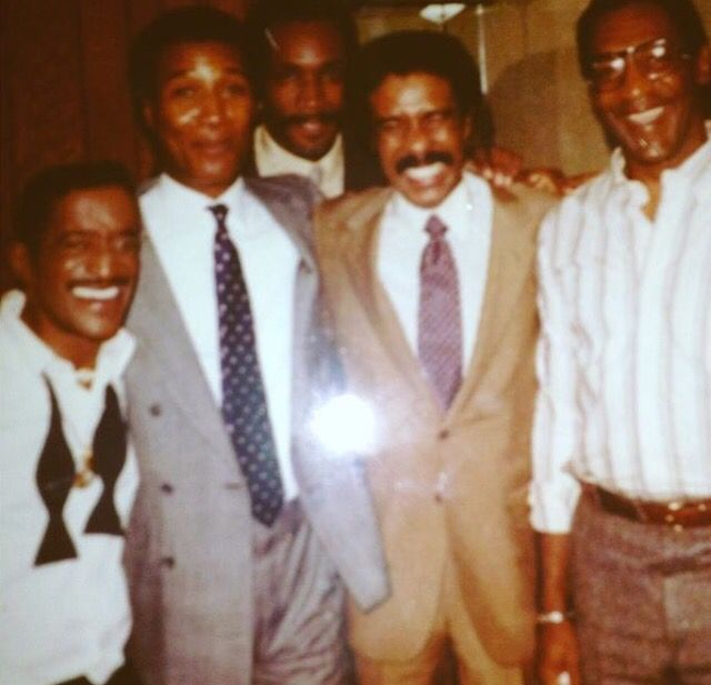 Sammy Davis Jr., Paul Mooney, Richard Pryor & Bill Cosby | Black history facts, Vintage black glamour, Famous black