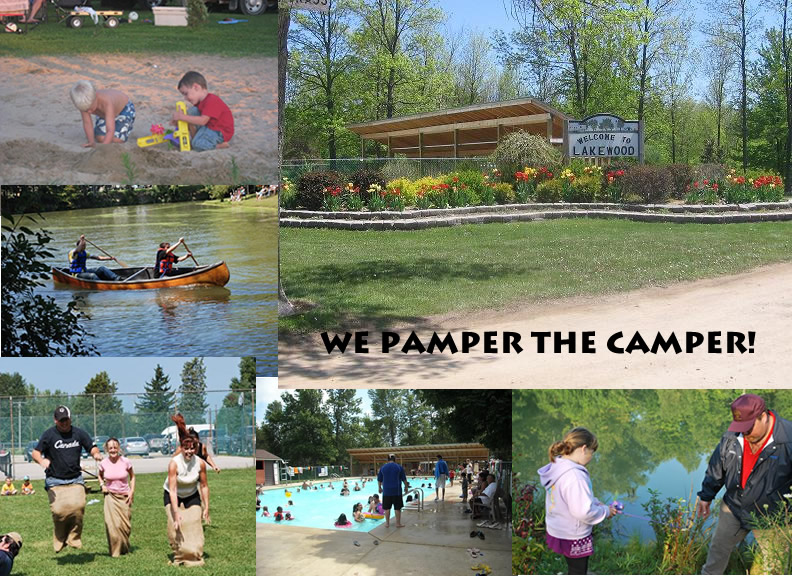 Lakewood Christian Campground Plympton Wyoming On Pa Rate 22 00 Reg Rate 44 00 Passport America Campgrounds Campground America Rv Parks