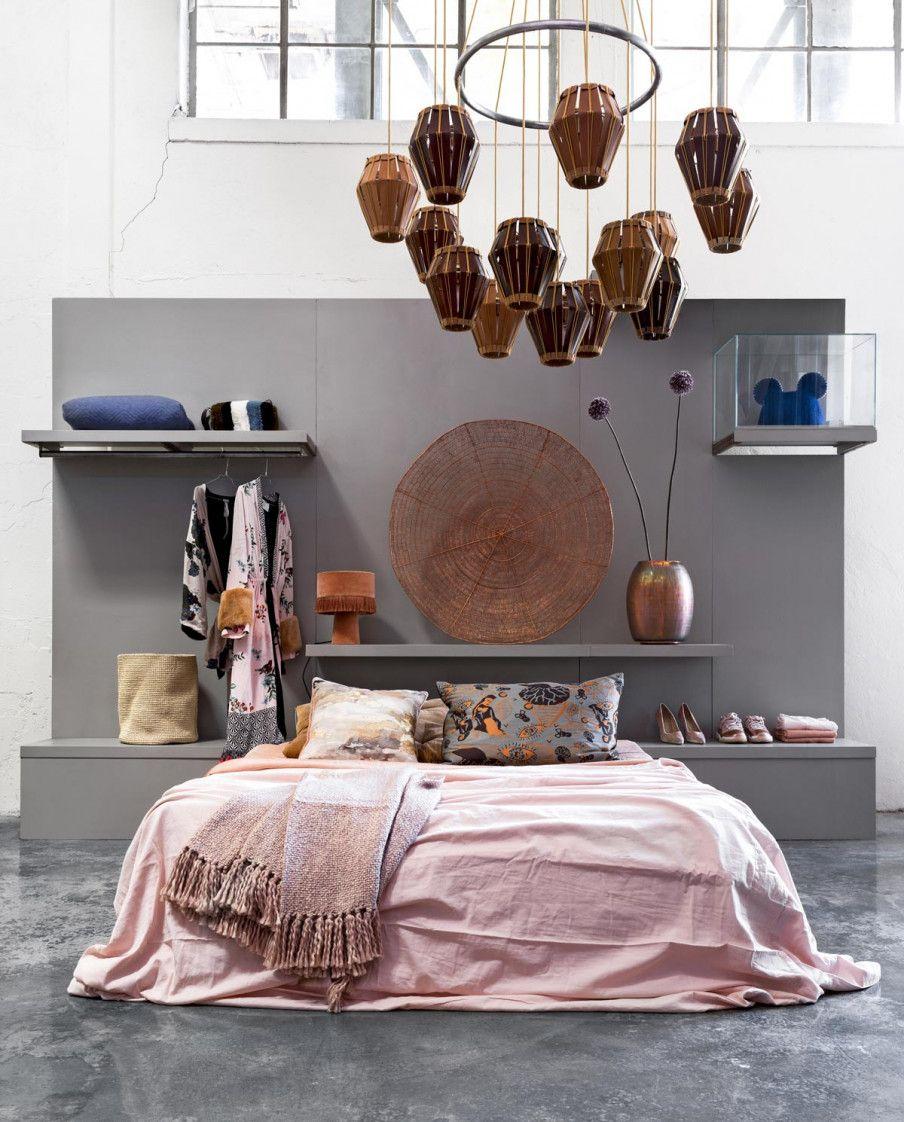 Roze Slaapkamer Accessoires.4x Roze Interieur In Deze Roze Slaapkamer Met Koperen