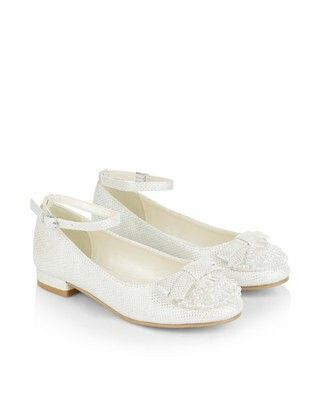 3b776be279547 First communion white ankle strap shoes   Sophia's First communion ...