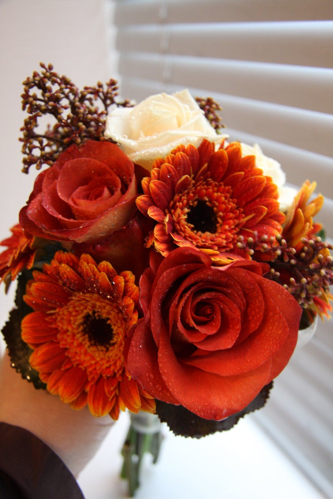 The Flower Magician Hand Tied Wedding Bouquet in Cinnamon