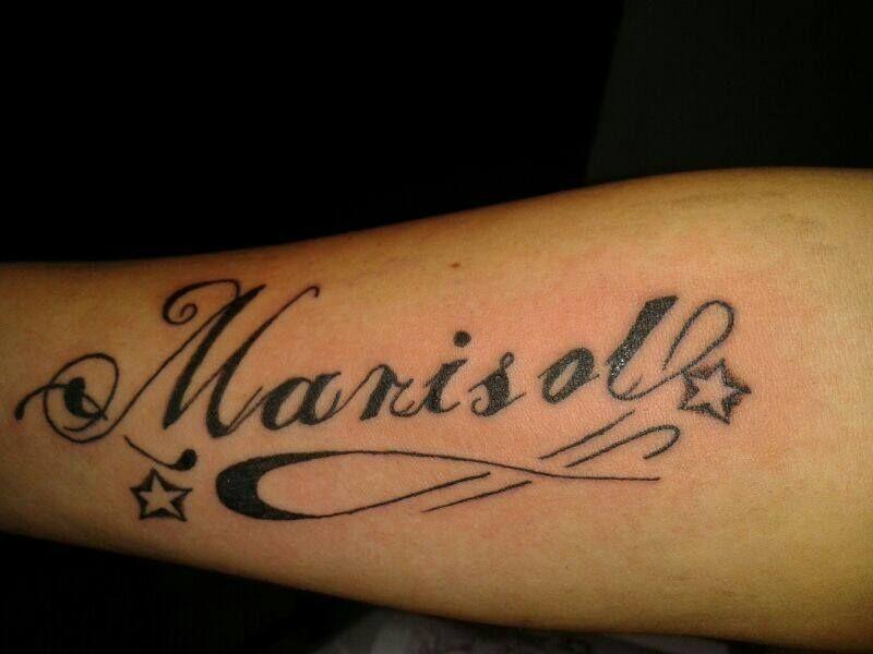 Tatuajes En Mano Escrita