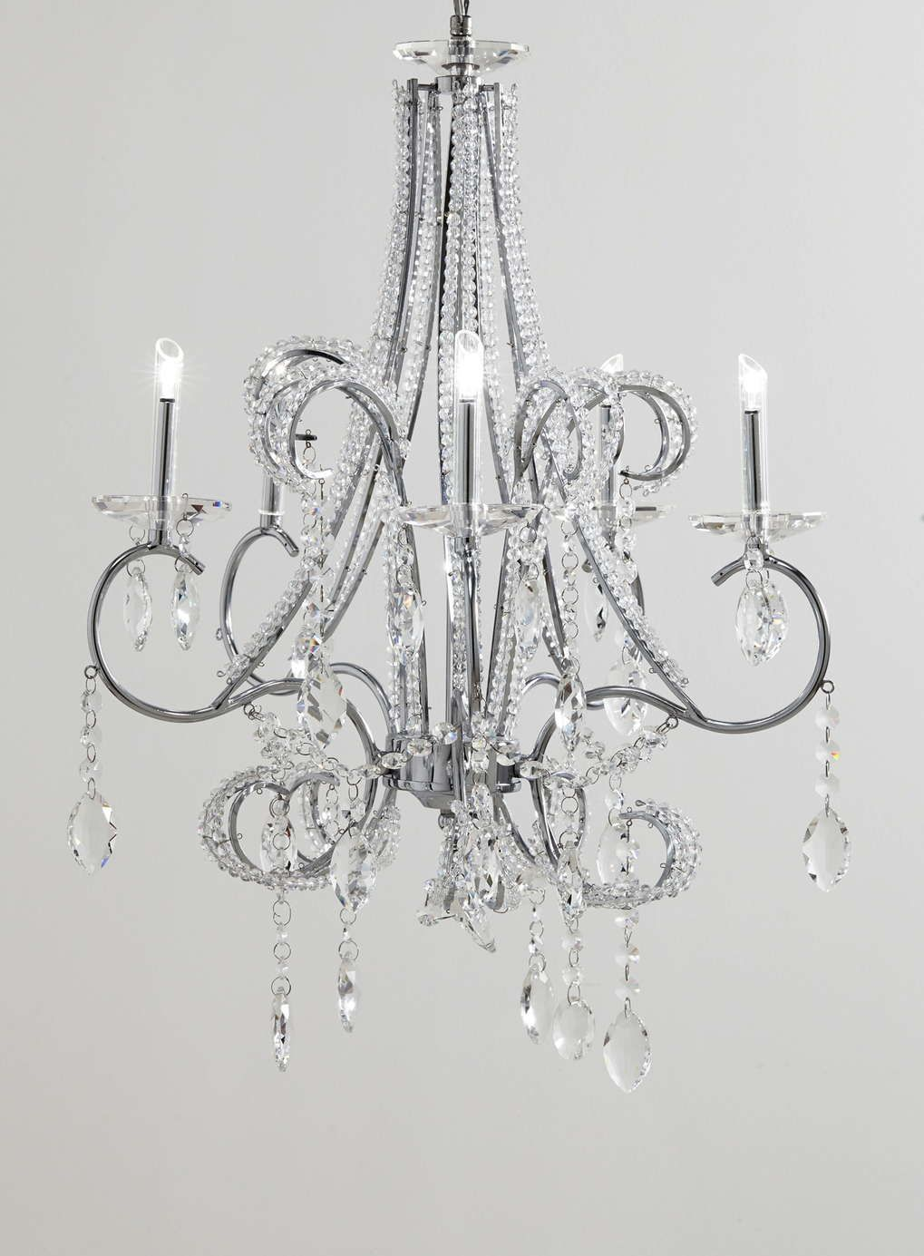 Isadora beaded chandelier bhs lighting pinterest bhs isadora beaded chandelier bhs arubaitofo Image collections