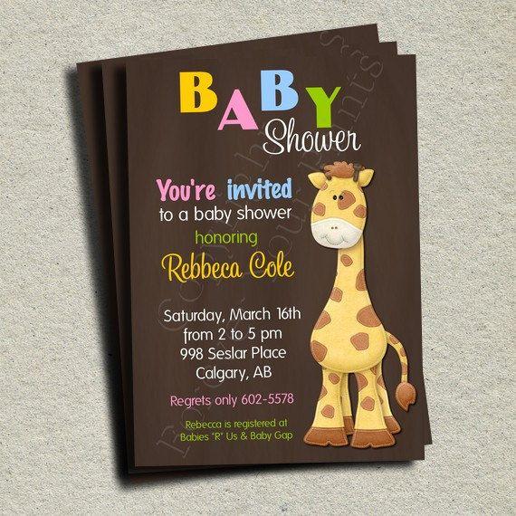 Baby Shower Invitation Printable Shower Invite 15 00 Via Etsy