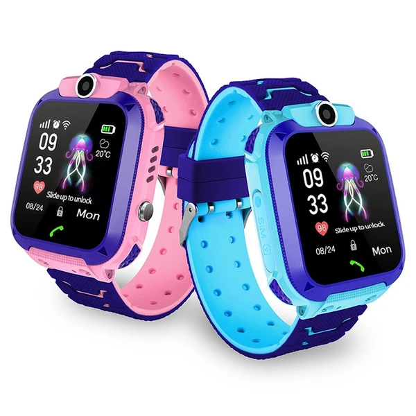 Q12B 1.44 inch Touch Screen Kids Smart Phone Watch Front