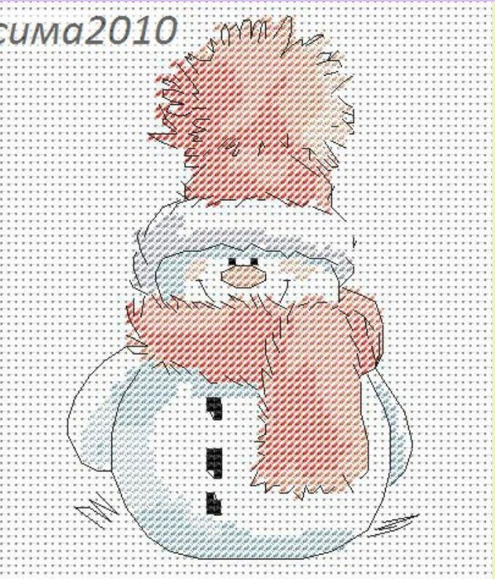 Navidad. Muñeco de nieve