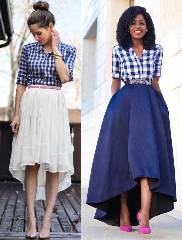 5e02d0f0ec Stylish and Fabulous Ideas to Wear Skirts in Style