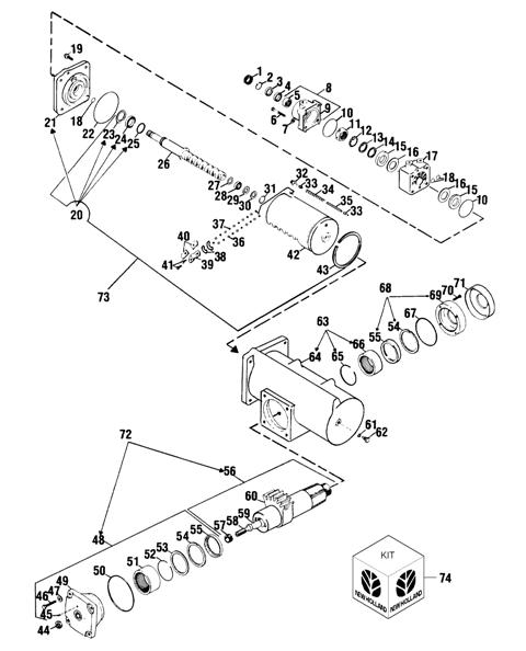 86589766 steering gearbox rebuild kit     emersonag com  product  seal