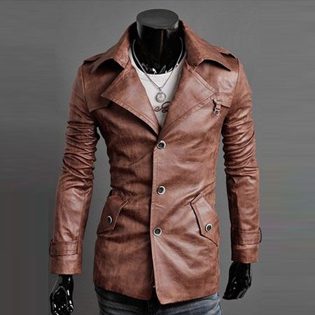 Collection Faux Leather Mens Jacket Pictures - The Fashions Of ...