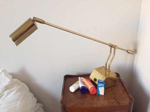 Lampe de bureau laiton meubles à intégrer