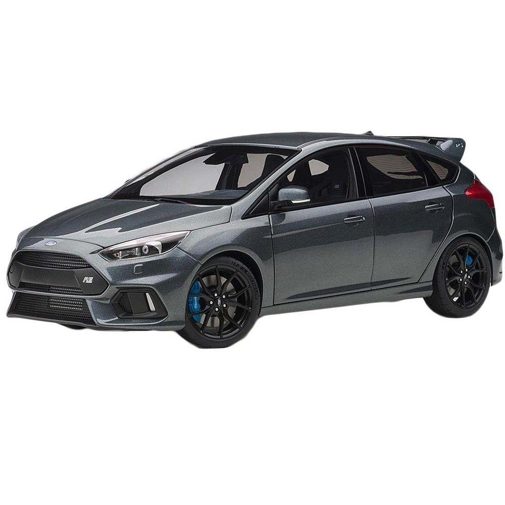 2016 Ford Focus Rs Stealth Gray Metallic 1 18 Model Car By Autoart Ford Focus Rs Car Model Ford Focus