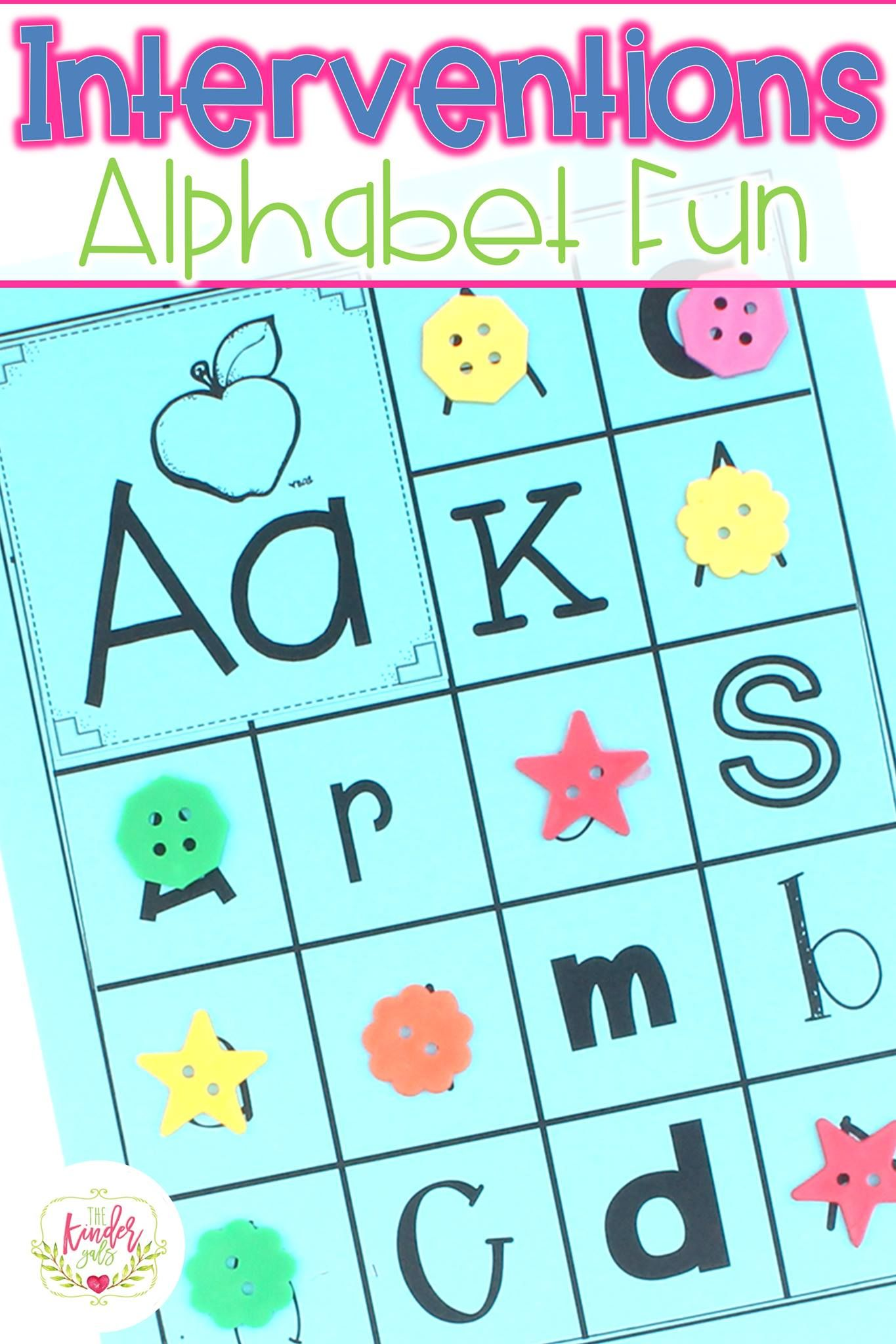 Alphabet Interventions by Kim Adsit and Michele Scannell ...