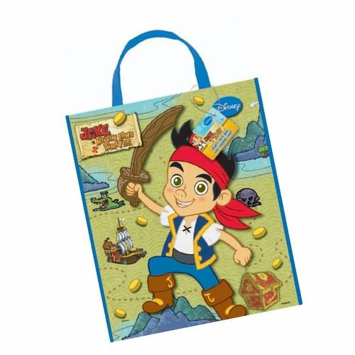Large Party Tote Bags Jake Neverland Pirates Party Gift Loot Kid Birthday