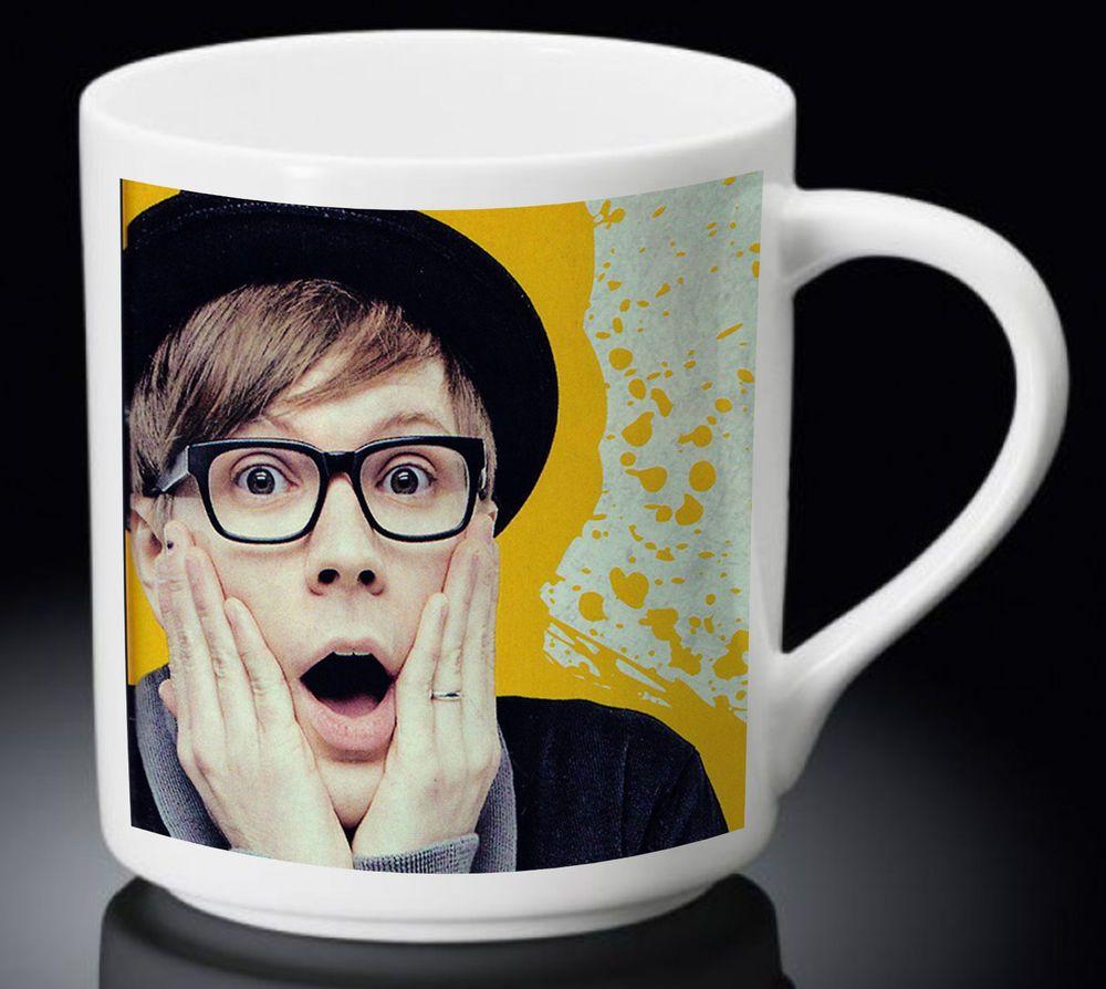 New Cheap Fall Out Boy Patrick Stump White Mug Tea Coffee Cup