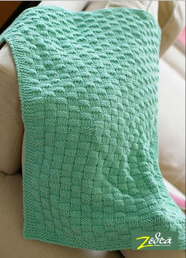Knitting A Baby Blanket Pattern For Beginners | Cool stuff to make ...