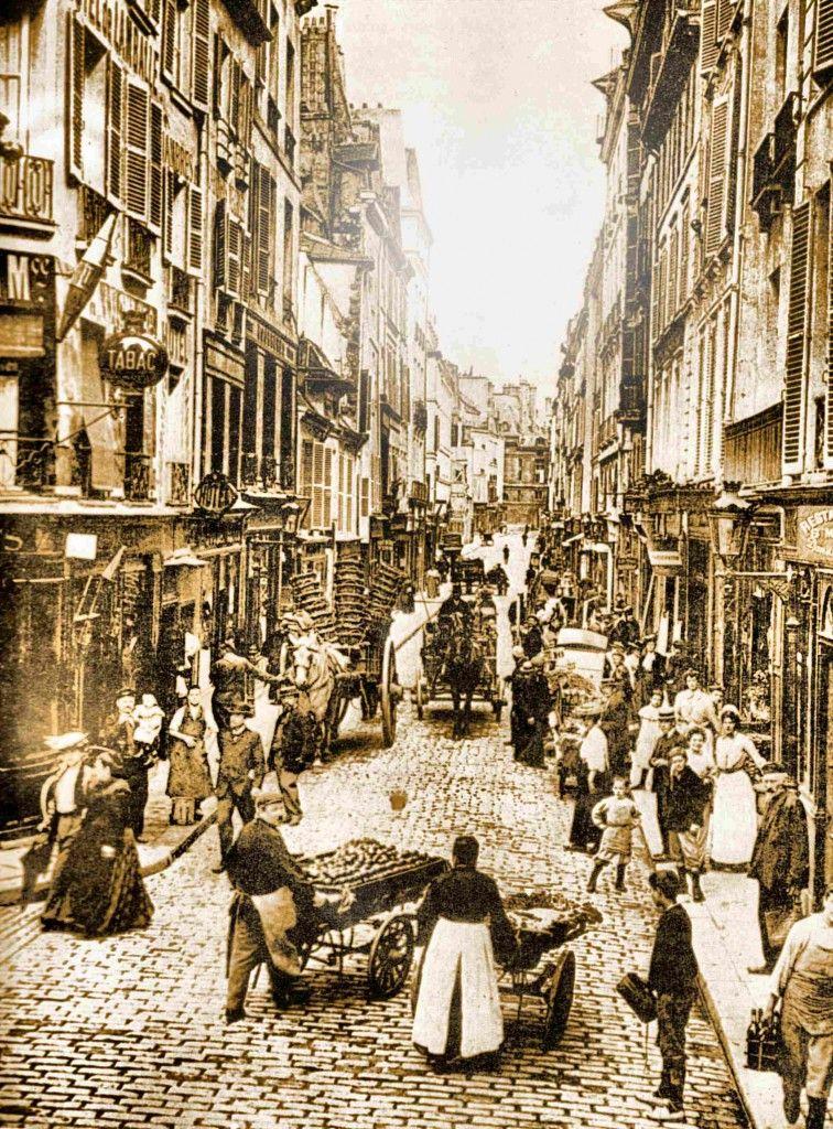 La rue de seine en 1900 dans tous les quartiers for Jardin 19eme siecle
