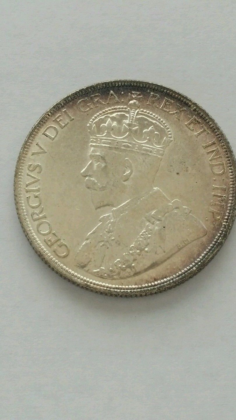 cool Canada 1 Dollar 1936 One Silver Dollar coin. George V. Voyager. Crown. Toned   Check more at http://harmonisproduction.com/canada-1-dollar-1936-one-silver-dollar-coin-george-v-voyager-crown-toned/
