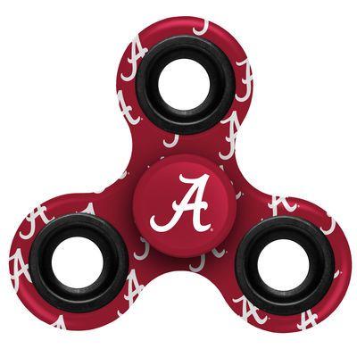 Alabama Crimson Tide Logo Three Way Fidget Spinner Alabama Crimson