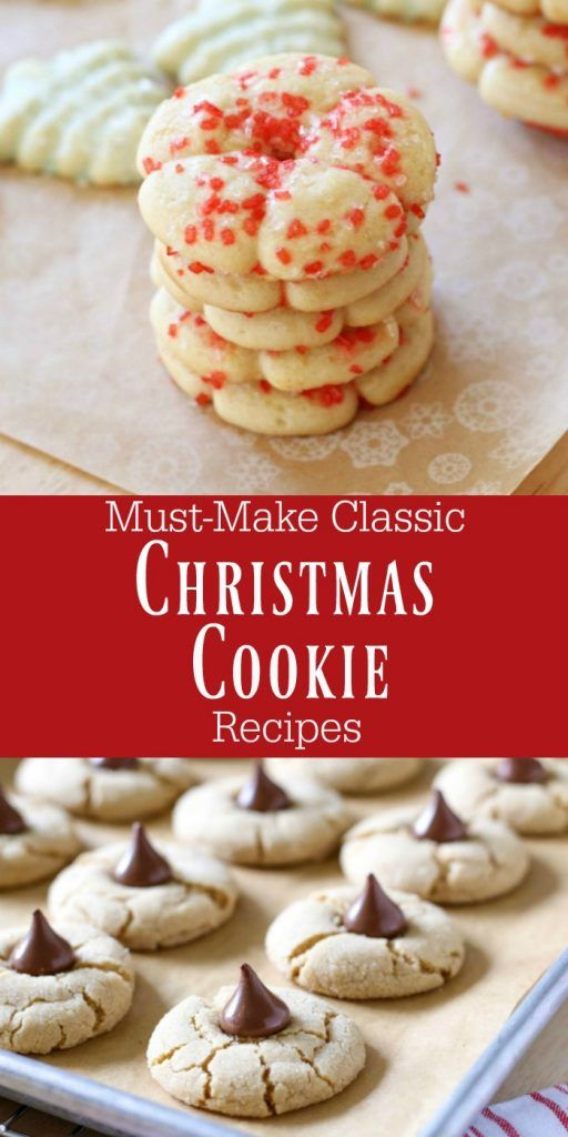 the best classic christmas cookie recipes christmas christmascookies christmascookierecipes - Classic Christmas Desserts