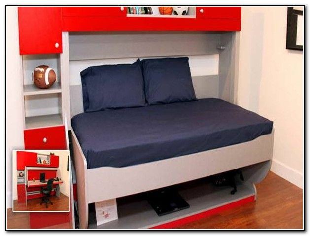 ikea bunk beds with desk - photo #30
