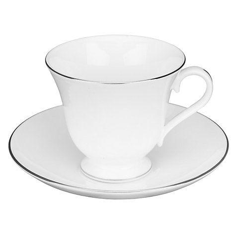 Buy Wedgwood Signet Platinum Tea Cup Online at johnlewis.com
