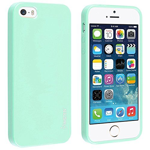 Insten Tpu Rubber Skin Case Compatible With Apple Iphone 5 5s Mint Green Jelly Eforcity Http Www Amazon Com Dp B009s3m1zc Coque Iphone Iphone Turquoise