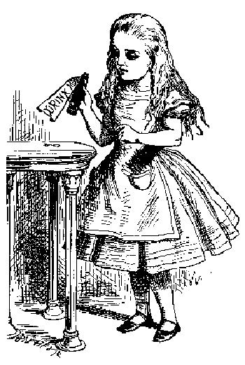 One Of The Original John Tenniel Illustrations Of Alice S