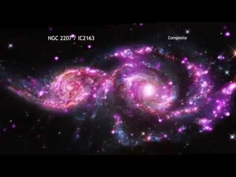 Vídeo – la Nasa capta el choque de 2 galaxias
